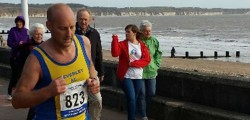 Just two Beverley AC athletes took part in a very windy Bridlington Half Marathon last weekend.