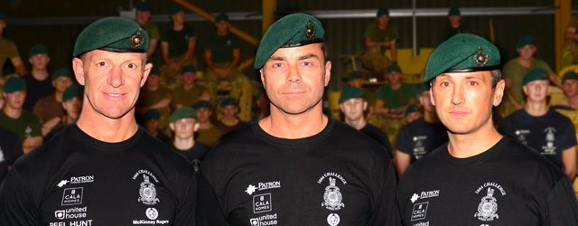 Royal Marines Celebrate 350th Birthday