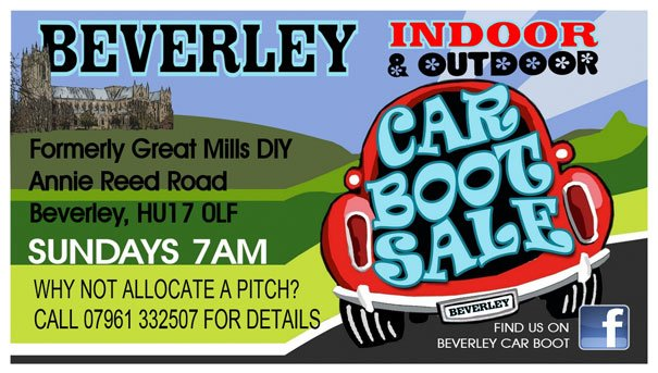 New Indoor Car Boot Sale Launches This Weekend In Beverley