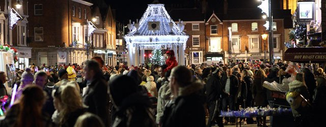 Have Your Own Ray Of Light Shine On Beverley At Christmas