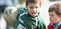 Beverley RUFC hosted a mini rugby festival this weekend at their home ground , Beaver Park.