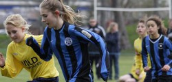 Mill Lane United Yellows consolidated their position at the top of the u16 Girls League with a comfortable victory away to Beverley Whitestar.