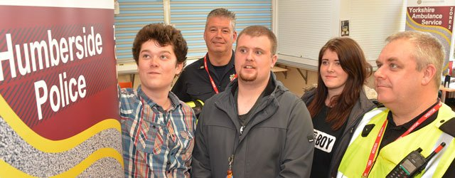 College Students Benefit From Road Safety Event