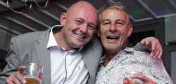 Chris Munns and Dave Bignell held a joint birthday at the Rose and Crown, Beverley.