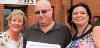 An unemployed man has won an award for his commitment to improving his job prospects. Mark Parker, 45, is the first winner of the Learner of the Month Award at TIR Training in Beverley.