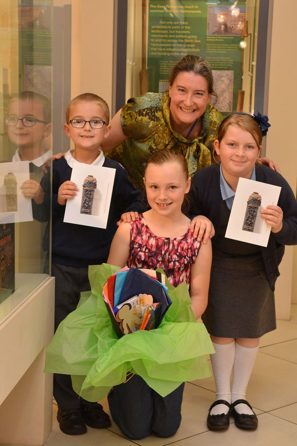 Three Lucky Young People Win Treasure House Children's Trail