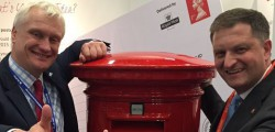 Member of Parliament for Beverley and Holderness in East Yorkshire, Graham Stuart, is celebrating news received from Royal Mail's Chief Executive, Moya Greene