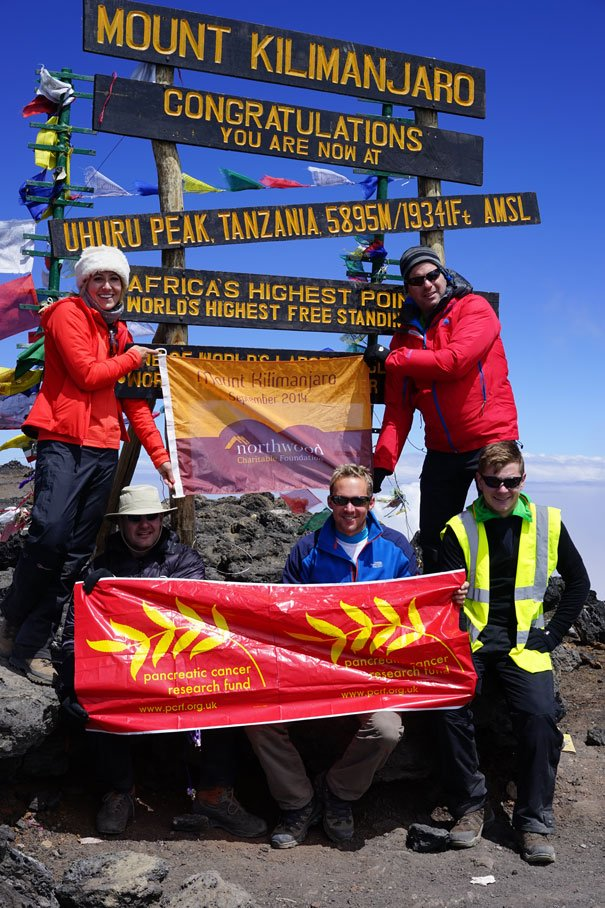 Estate Agents Reach The Top Of Africas Highest Peak