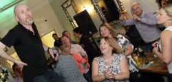 Farthing's Steak Emporium held a night of music, laughter, pies, mash and straws.