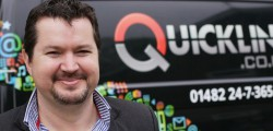Steve Jagger the Managing Director of Quickline has welcomed news that MP Graham Stuart is backing broadband expansion in the region.