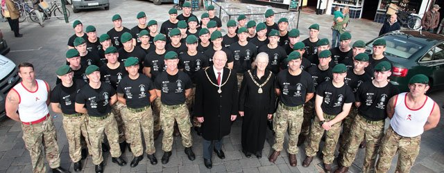 Royal Marines 350 : 1664 Challenge Comes To Beverley