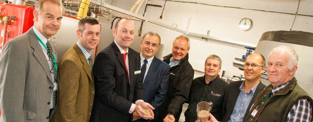 Biomass Boiler Will Help School Reduce Carbon Footprint Says Leon Myers