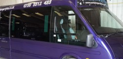 Andy Lane owner of Yorkshire Party Bus, the Beverley based transport company is appealing to the public to for help following the theft of one of their fleet.