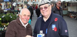 The Royal British Legion's 2014 Poppy Appeal got under way in Beverley. Volunteers from Beverley Branch of the British Legion were in the town centre collecting donations from the public.