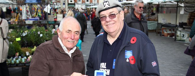 Beverley Branch Gets Royal British Legion Poppy Appeal Underway