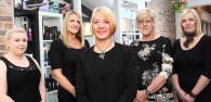 Arcade Hairdressing marks one year of trading today, and business owner Sue Fearn is simply wondering where that year has gone.