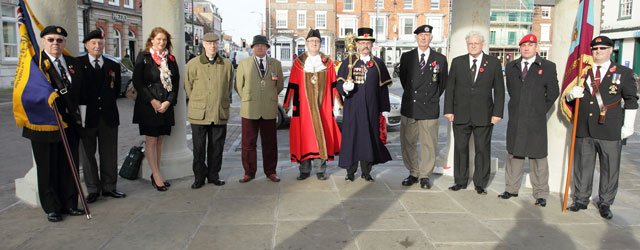 Armistice Day in Beverley: Young and Old Pause to Remember
