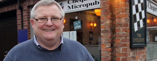 Chequers Owner Ian Allott Says He Was Surprised To Best Bar None An Award