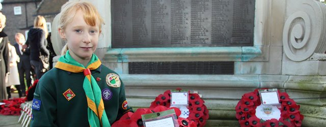 Local Cub Scout Remembers Great Great Grandad