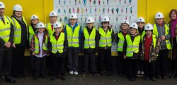 Three large street hoardings packed with local children's aspirations now decorate the border of the Flemingate Regeneration Scheme in Beverley.