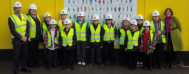 Beverley Children's Dreams Immortalised On Hoardings At Flemingate