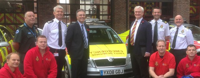 Blue Light Services Rolling Out Yorkshire's First Emergency First Responder Scheme