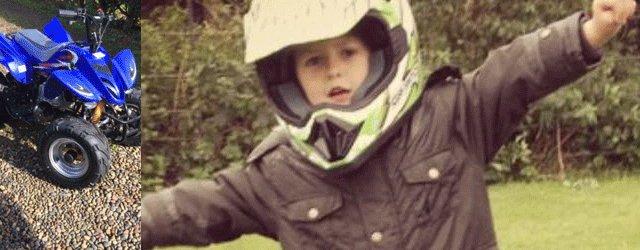 Family Appeal For Help After Child's Quad Bike Stolen