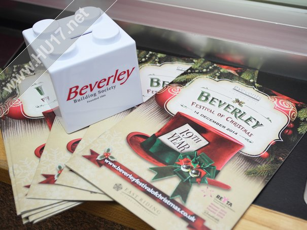 Beverley Festival of Christmas: Claim You FREE Lego Brick Money Box This Sunday