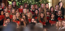 Beverley High School held their annual Christmas Carol Concert at Beverley Minster. Around 600 people packed out the iconic Minster to enjoy an afternoon of festive music.