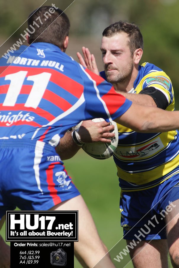 RUGBY LEAGUE : Blue & Golds Stay Top After Beating Hull Knights