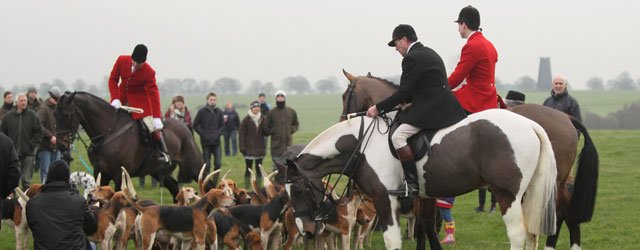 Hundreds Gather For Boxing Day Hunt On Beverley Westwood