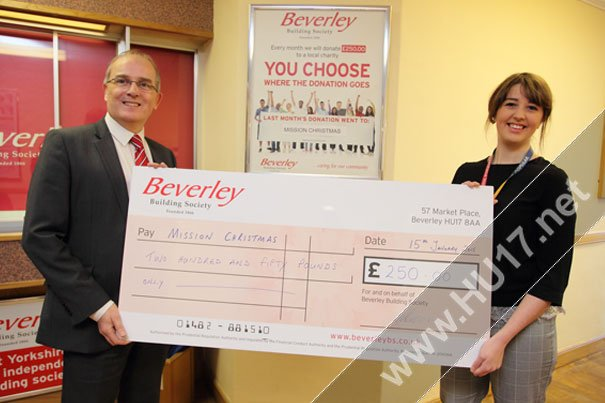 Beverley Building Society Provides A Helping Hand!