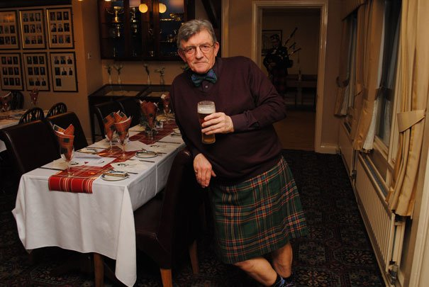 Kilts, Haggis And Bagpipes At Yorkshires Oldest Golf Club