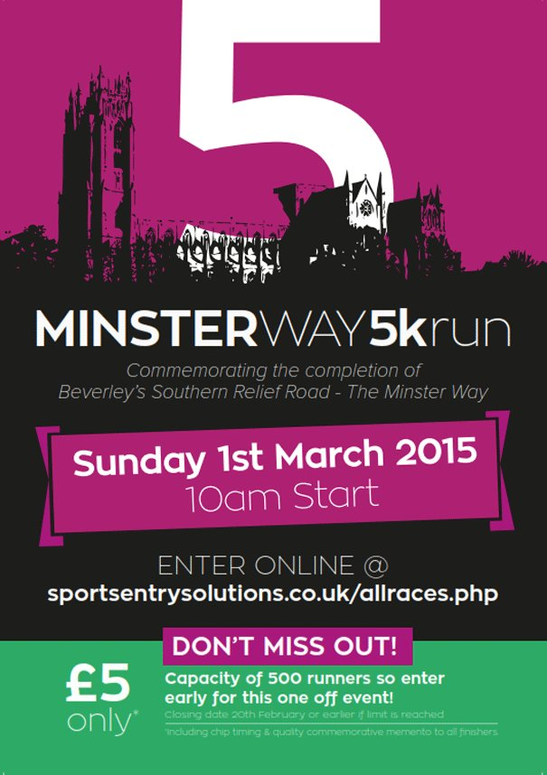 Minster Way 5k Run: Athletic Club To Host Unique Running Experience