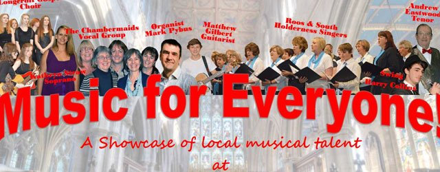 Music For Everyone : Showcasing Local Musical Talent