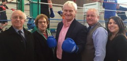 Burden Road Track Fitness and Boxing Club in Beverley celebrated its first anniversary with an open day last Friday.