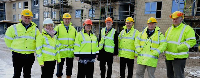 Work On Major New £6.75m Extra Care Housing Scheme Progressing Well