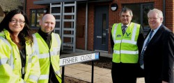 As East Riding of Yorkshire Council continues its programme of building affordable housing across the area for residents, the latest phase at Leconfield is nearing completion.