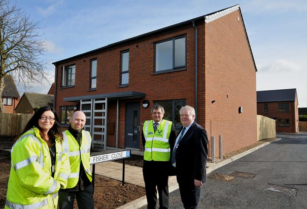 New Affordable Housing In Leconfield Handed Over
