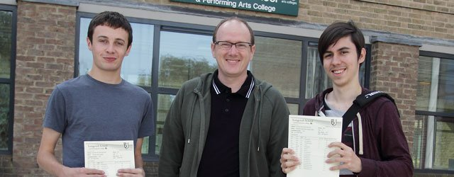 Longcroft's A-Level Results Among The Best in the Country