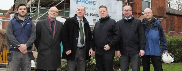 Minister For Empty Homes Visits Local Regeneration Projects