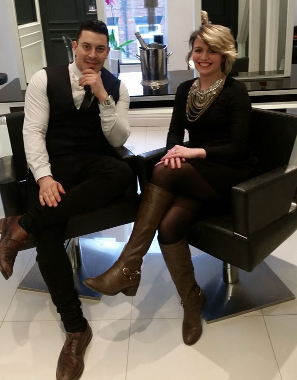 Rick Roberts Salon Book Two Places In Hairdressing Competition Final