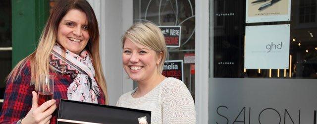 Kerrie Mackenzie Wins GHD Straighteners From Salon ID