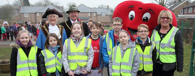 St Mary's CE Primary School Annual Healthy Heart Walk