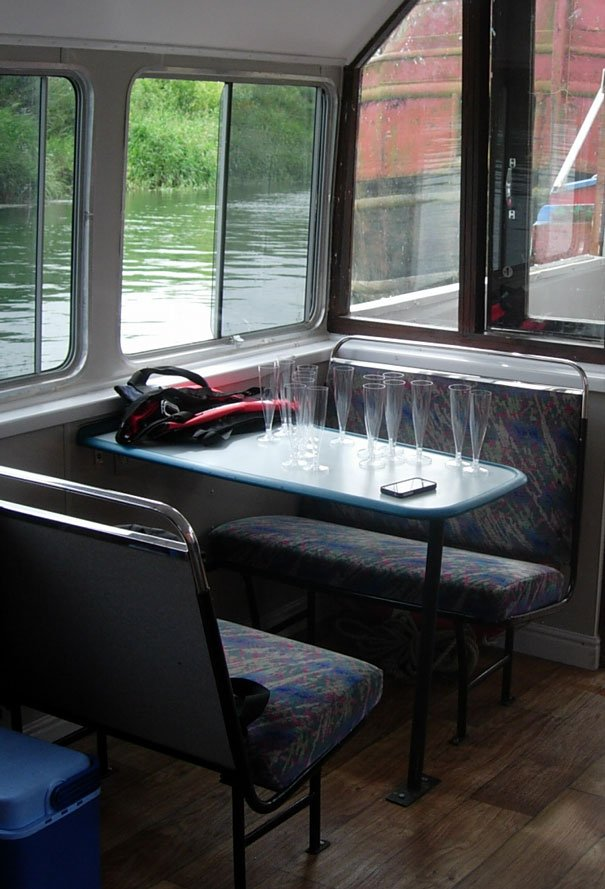 Bus Seats Take To The Water