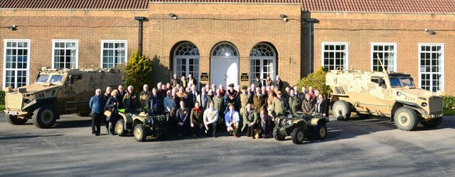 Defence School of Transport Get Special Visit From London