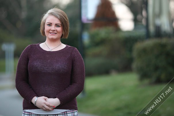 HU17 - THE VOICE : Amy-Louise Johnson Speaks About Life in Beverley