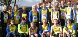 Strong winds challenged runners taking part in the final fixture of this year's East Yorkshire Cross Country League. Organised by Bridlington Road Runners