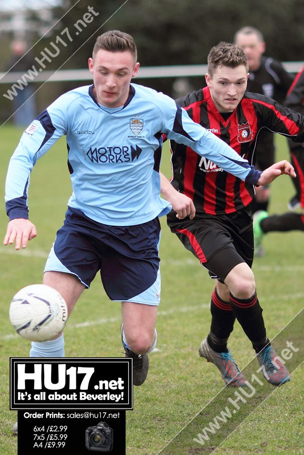 Beverley Town Held at Home By East Riding Rangers