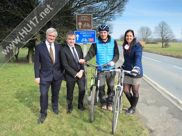 Under-Secretary Of State Visits Beverley Westwood To Meet Local Residents And Hear More About The Plans For A Cycleway